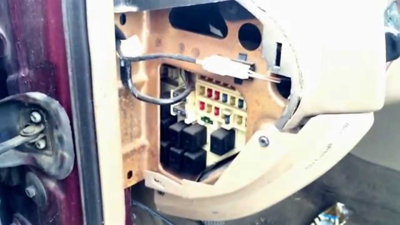 Chrysler 300M Fuse Box Location YouTube