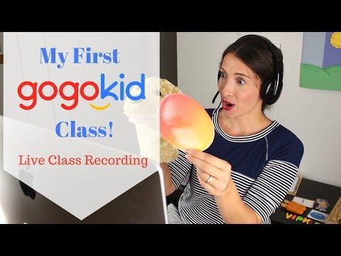 gogokid, My First Class!