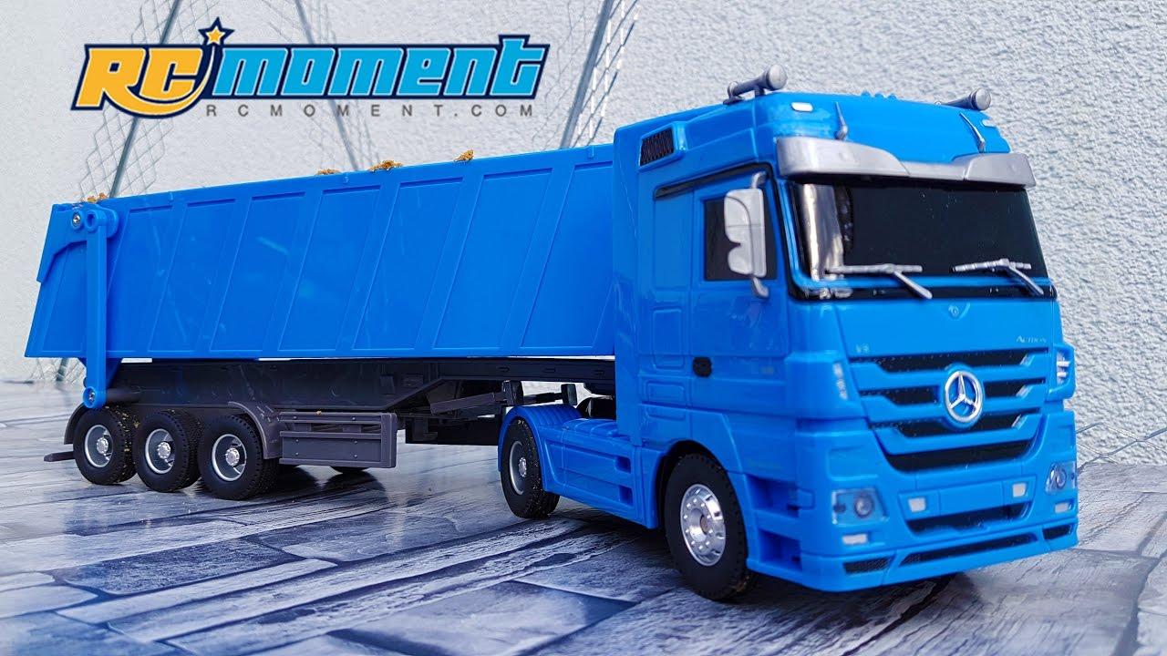 G Electric Mercedes Benz Dump Truck Rc Ruichuang Qy1101c 1 32 13224g