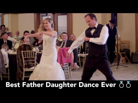 BEST Father Daughter Wedding Dance EVER! You gotta see it! 😂😂😂