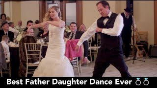Video BEST Father Daughter Wedding Dance EVER! You gotta see it! 😂😂😂 download MP3, 3GP, MP4, WEBM, AVI, FLV Agustus 2018