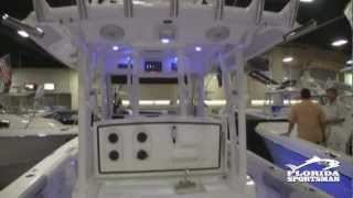 Everglades 355T - FS Boat Review from the 2012 Ft. Lauderdale Boat Show