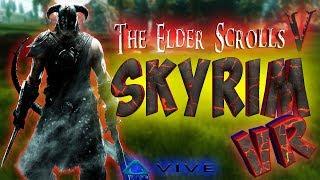 Skyrim VR ОБЗОР игры в ВИРТУАЛЬНОЙ РЕАЛЬНОСТИ с HTC VIVE | The Elder Scrolls V: Skyrim VR