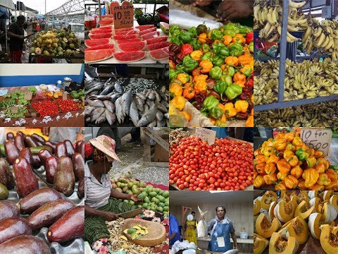 Market Day In The Caribbean #Gallivanting | CaribbeanPot.com