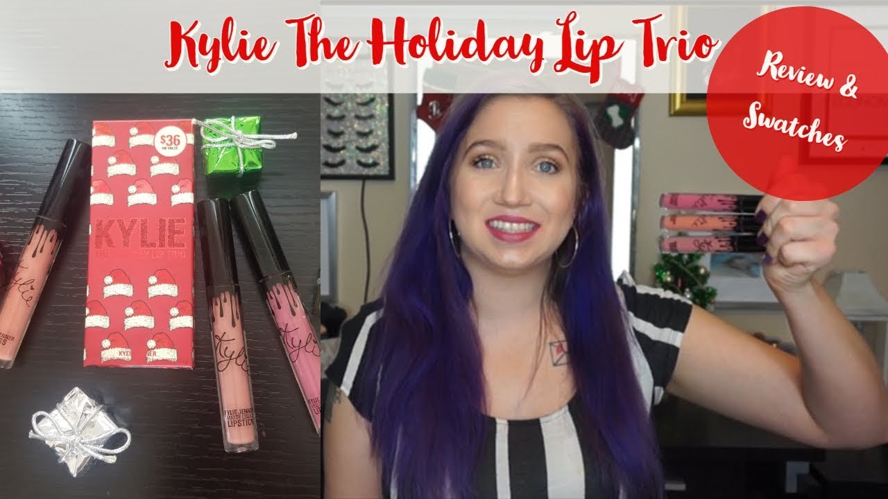 The Holiday Lip Trio by Kylie Cosmetics #14