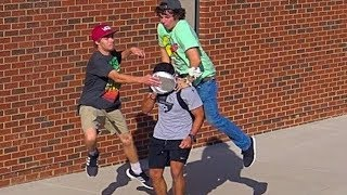 Jumping Pie Prank!