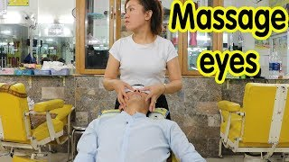 Barbershop Vietnam Massage Eyes & Shave just $5