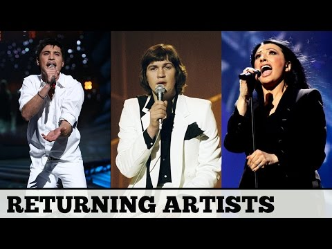 Eurovision RETURNING ARTISTS | My Top 20 & Favourite Song