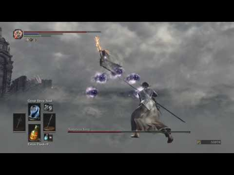 DARK SOULS 3: Dark Magic VS Nameless King