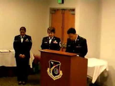 Invocation - USAF Retirement Ceremony