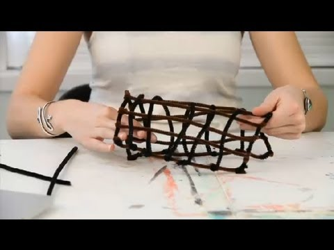 How To Make A Longhouse Out Of Pipe Cleaners Pipe