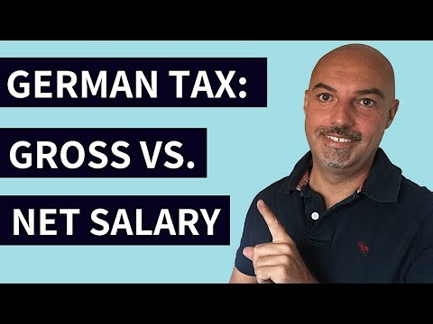 GERMAN TAX Calculator [Easily Work Out Your NET Salary]
