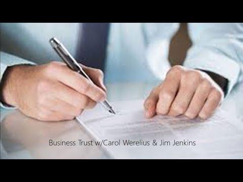 Business Trust W/Carol Werelius