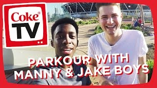 Manny & Jake Boys Master Parkour | #CokeTVMoment