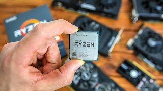 Ryzen 2600X Benchmarks With Budget Graphics Cards!