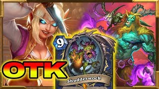 Hearthstone: New Shudderwok OTK With Heroic Innkeeper and Mad Summoner | Rise of Shadows