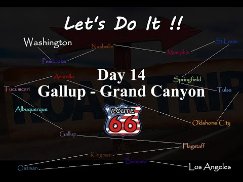 American Road Trip, Route 66, Day 14, Gallup to The Grand Canyon