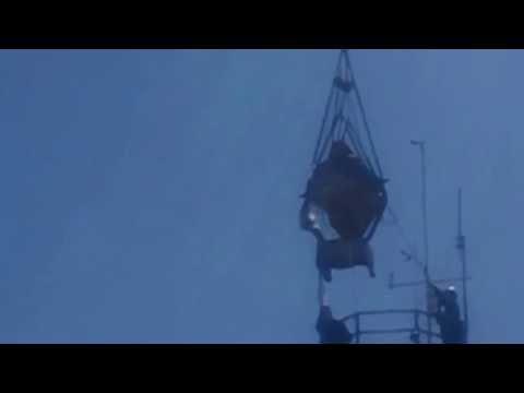 Mount Diablo Beacon Lifting 2013 (camera 2)