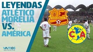 Partido de Leyendas Atlético Morelia vs. Águilas del América
