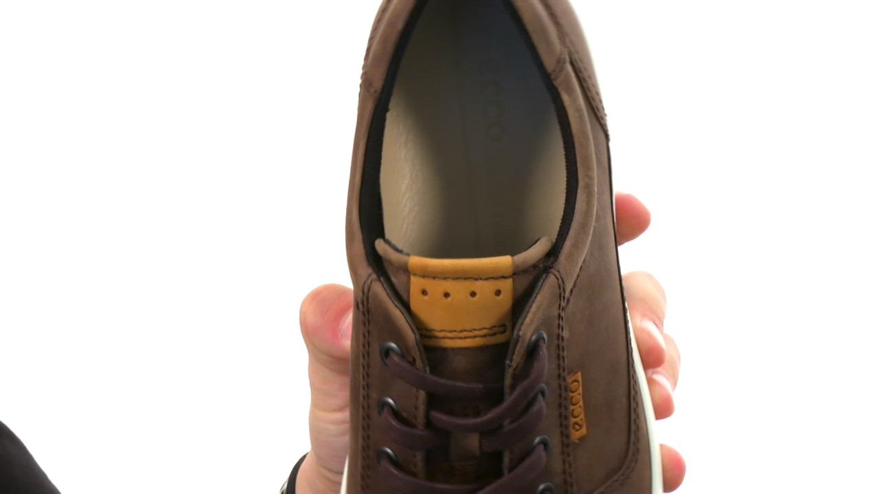 ECCO Soft Retro Sneaker | Zappos.com