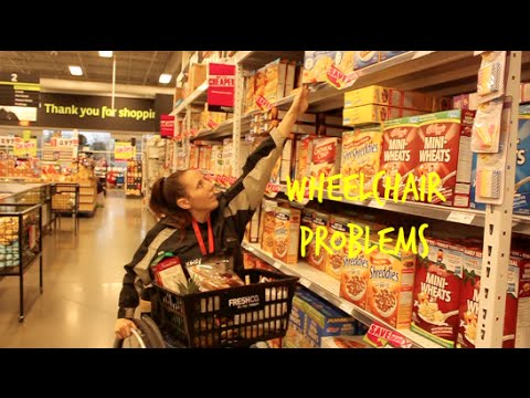 Image result for supermarket wheelchair problems