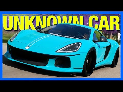 Forza Horizon 4 : THE UNKNOWN SUPERCAR!! (ATS GT Customization)