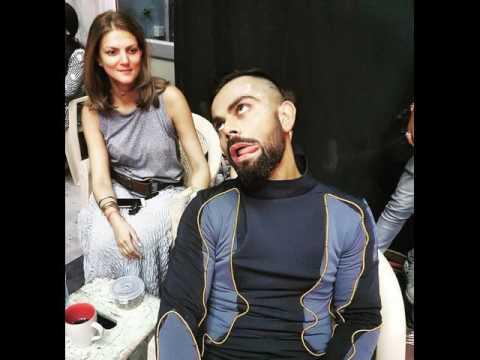 Virat Kohli New Hairstyle Become Viral On Internet Before Newzealand