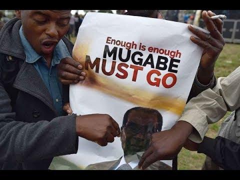 Zimbabwe celebrates Mugabe's resignation