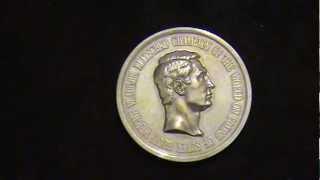 Медаль на заказ(эта медаль и вся сопутствующая ей работа : гравировка стальных матриц, чеканка с последующей доводкой выпо..., 2012-07-08T12:46:26.000Z)