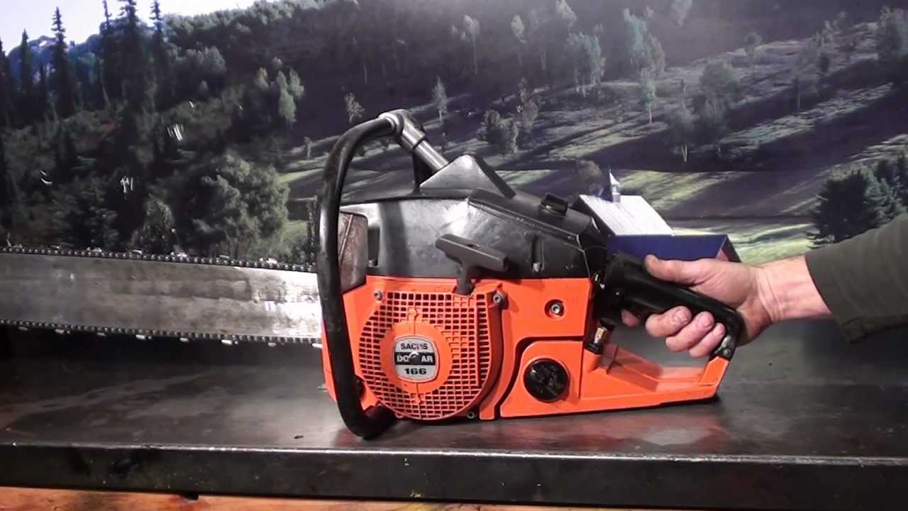 The chainsaw guy shop talk Sachs Dolmar 166 Chainsaw 1 21