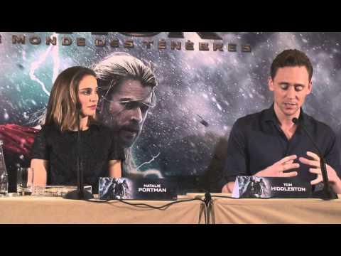 Conférence de presse Thor, le monde des ténèbres