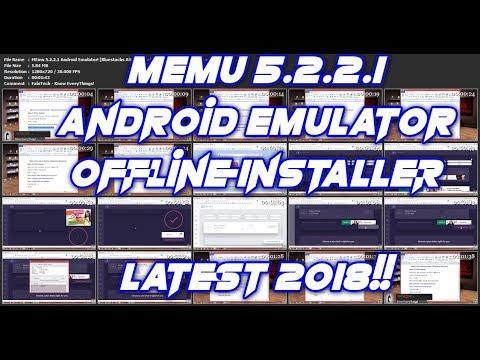 memu android emulator offline installer
