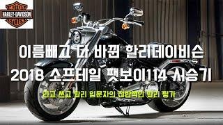 [엑스트림]할리데이비슨 2018 팻보이114 시승기 - 할리입문 오너의 리뷰