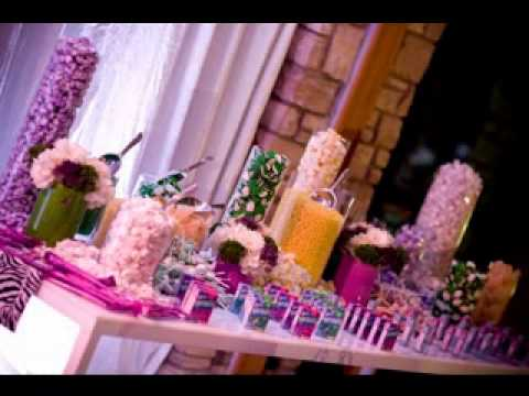 diy baby shower candy table decorating ideas youtube. Black Bedroom Furniture Sets. Home Design Ideas