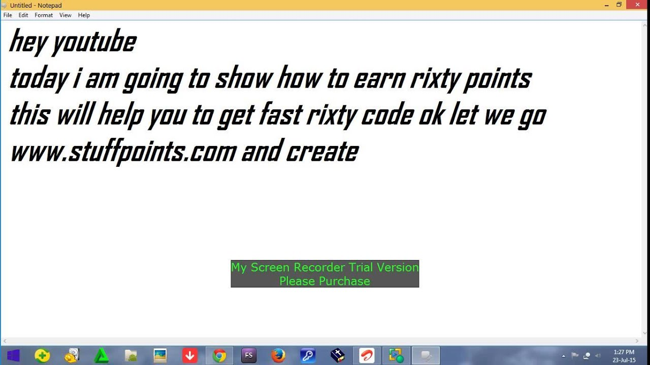 How To Earn Free Rixty Code Fast 10days 10 Dollars Youtube