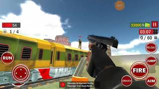 US Train Hijack Rescue Ops Simulator Android Gameplay