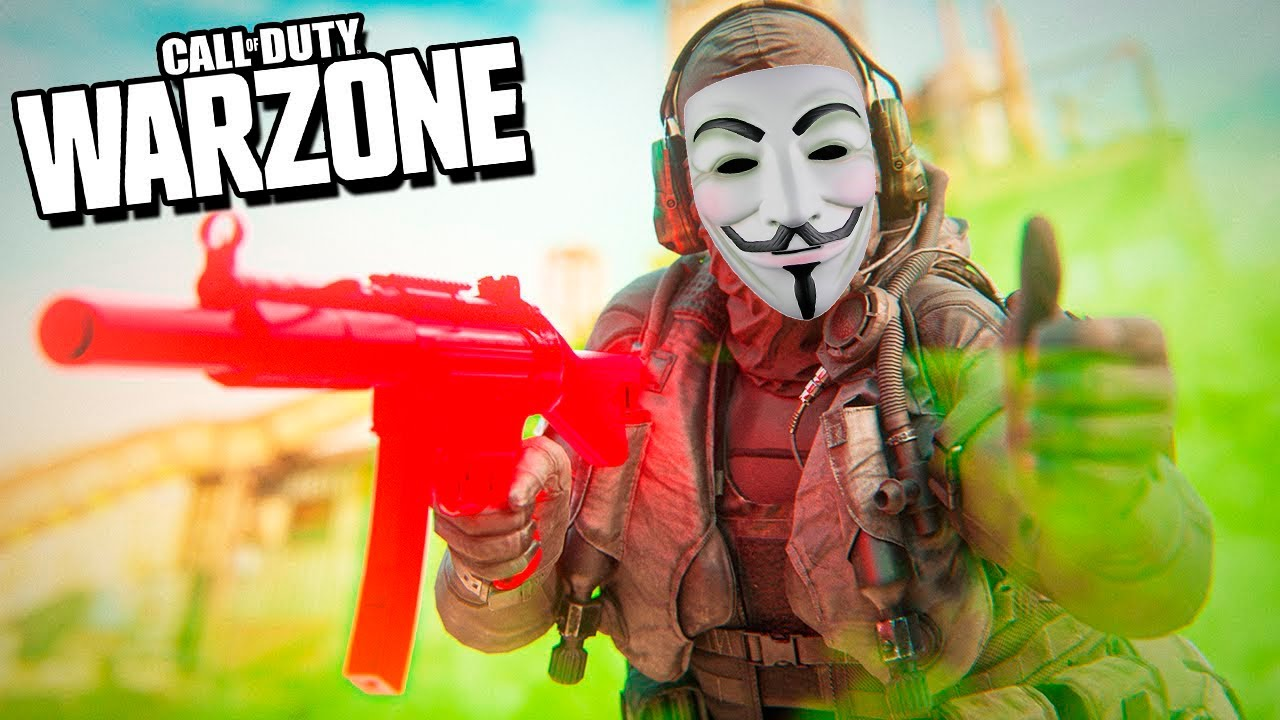 REAGINDO AO HACK MAIS NOOB DO BRASIL NO COD WARZONE!