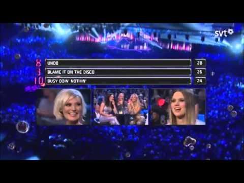 Melodifestivalen 2014 Final Voting & Results (Part 1)