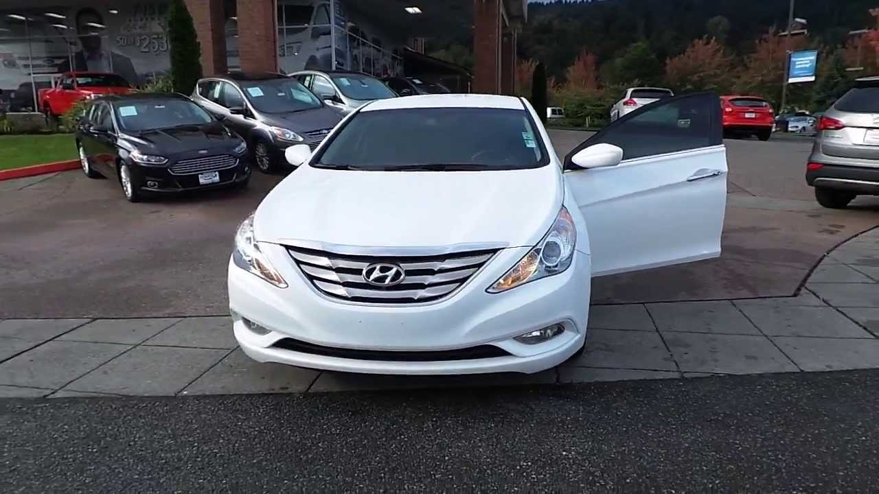 2012 Hyundai Sonata White Stock 13 3174a Youtube