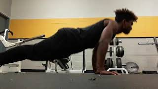 AD 100 Pushup Challenge (2:50 with good form)