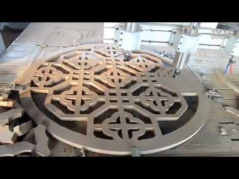 Woodworking Cnc Router For Mdf Door Kitchen Closet Cutting
