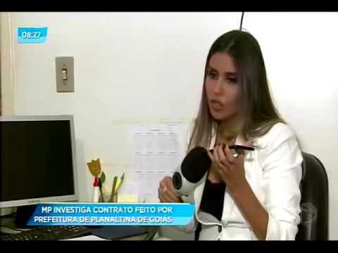 Denúncia de corrupção em Planaltina de Goiás Klaus Stenius