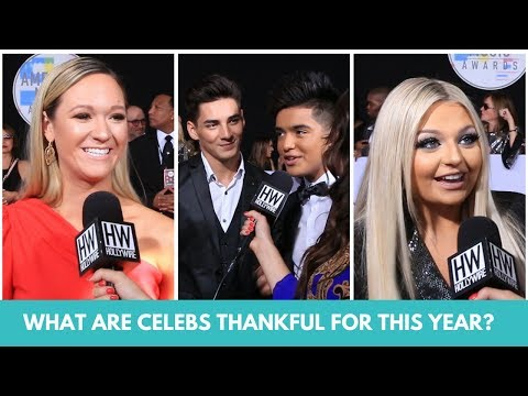 Download Youtube: Celebs Confess What They Are Really Thankful For This Year