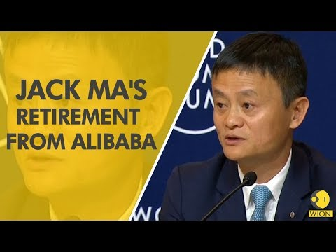 Alibaba co-founder Jack Ma, China's richest man, announces retirement