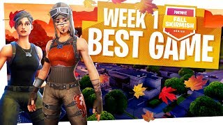 Our Fall Skirmish Week 1 Best Game - $1,500,000 Fortnite Tournament