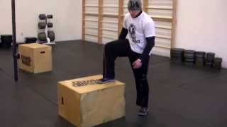 Crossfit Box Step Up's Proper Execution By Chrono Crossfit