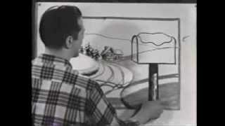 Jon Gnagy  drawing lesson 1950s