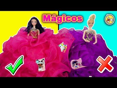 Marinette y Adrien compra VESTIDOS MAGICOS de Princesas Disney!! | UNICORNIO QUE HABLA!!