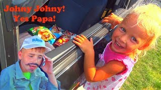 Learn colors with Chips for Kids & Johny Johny Yes PaPa Nursery Rhymes & Kids Songs