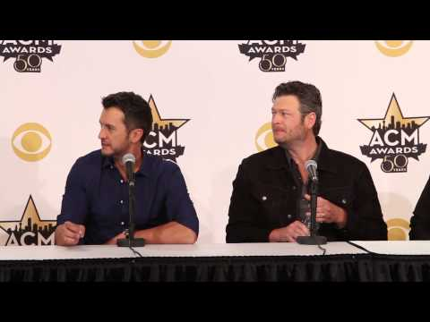 50th ACM Awards Press Conference